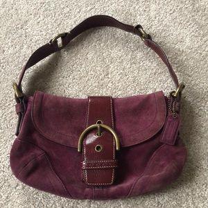 Coach small satchel shoulder bag